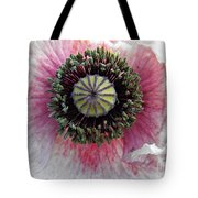 Floral Geometry Tote Bag