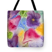 Floral Glory Dos Tote Bag