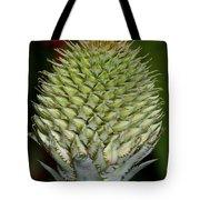 Floral Grenade Tote Bag