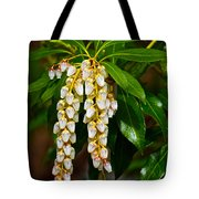 Floral Hanging Lanterns From Japan Tote Bag