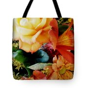 Floral Harmony Tote Bag