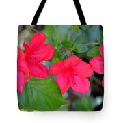 Floral Hedge Tote Bag