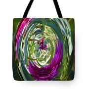 Floral Illusion 1 Tote Bag