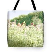 Floral Impressions Tote Bag