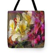 Floral Inspiration - Square Version Tote Bag