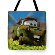 Floral Mater Tote Bag by Thomas Woolworth