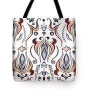 Floral Pattern II Tote Bag