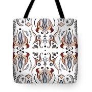 Floral Pattern IIi Tote Bag