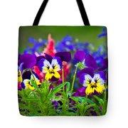Floral Salad Tote Bag