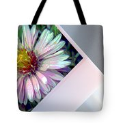 Floral Snap Shot Tote Bag