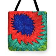 Floral Spin Tote Bag