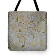 Floral Stem Tote Bag