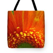 Floral Sunrise - Digital Painting Effect Tote Bag