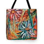 Floral Swirl Tote Bag