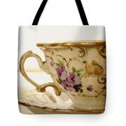 Floral Tea Tote Bag