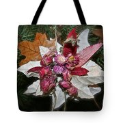 Floral Tree Ornament Tote Bag