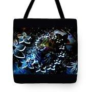 Floral Way Tote Bag