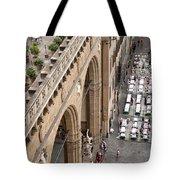 Florence And Piazza Della Signoria Tote Bag