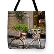 Florence Bicycle  Tote Bag