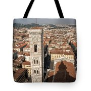 Florence From The Top Of Brunelleschi's Dome Tote Bag