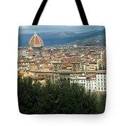 Florence Italy Panoramic Tote Bag