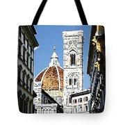 Florence Italy Santa Maria Fiori Duomo Tote Bag