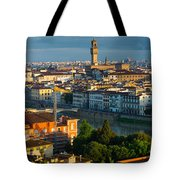 Florence Panorama Tote Bag