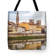 Florence Reflection Tote Bag by Luis Alvarenga