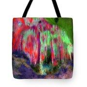 Florescent Cave Tote Bag