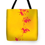 Florets In Ochre Tote Bag