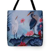 Florida Beauty Hand Embroidery Tote Bag by To-Tam Gerwe