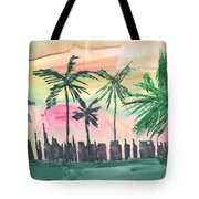 Florida City-skyline3 Tote Bag