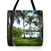 Florida Lake Tote Bag