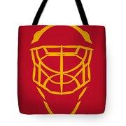 Florida Panthers Goalie Mask Tote Bag