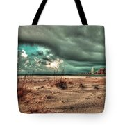 Florida Point Begining Of The Storm Tote Bag