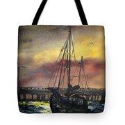Florida Sailing Tote Bag