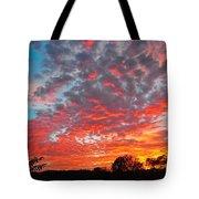 Florida Spring Sunset Tote Bag