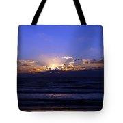 Florida Sunset Beyond The Ocean  II Tote Bag