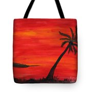 Florida Sunset II Tote Bag