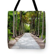 Florida Walkway Tote Bag