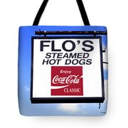 Flo's Steamed Hot Dogs Tote Bag