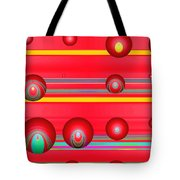 Flotation Devices - Lipstick Tote Bag