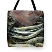 Floundering Tote Bag