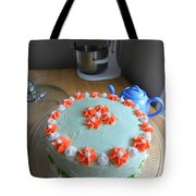 Flour And Flower Tote Bag