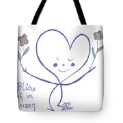 Flourish Within Your Heart Tote Bag