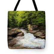 Flow Of Forest Zen Tote Bag