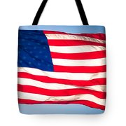 Flow Of Freedom Tote Bag