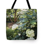 Flower And Tree At Msu Tote Bag