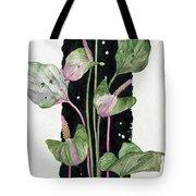 Flower Anthurium 02 Elena Yakubovich Tote Bag by Elena Yakubovich
