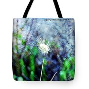 Flower As A  Painting Tote Bag